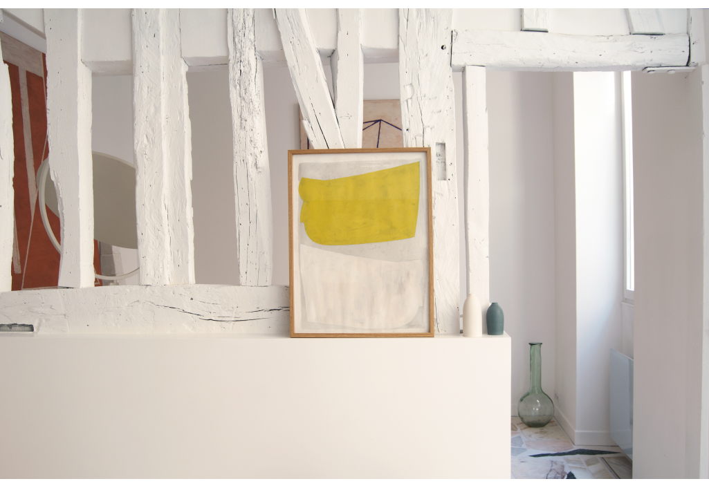 Variations surfaces couleurs Painting Heurlier Zeuxis