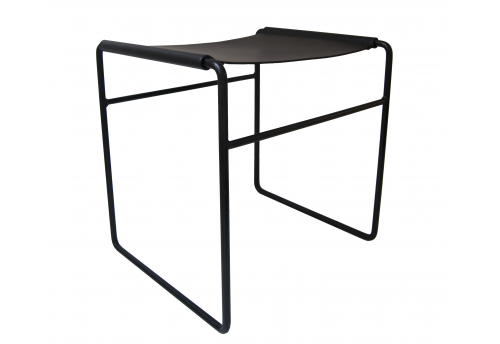 Simple - Stool Black - Amelie & Mickael Koska