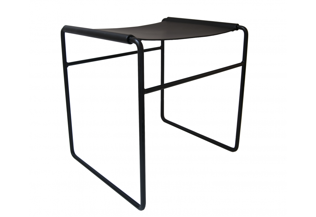 Simple - Tabouret Noir
