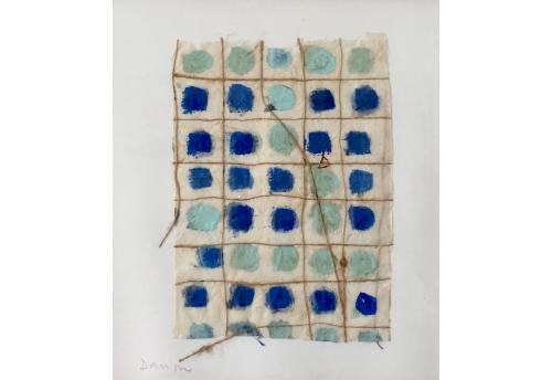 Composition Bleu et Vert