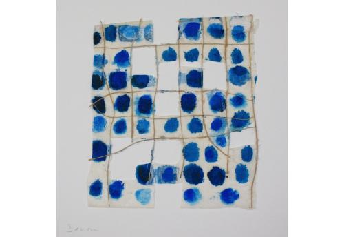 Composition bleu sur bleu