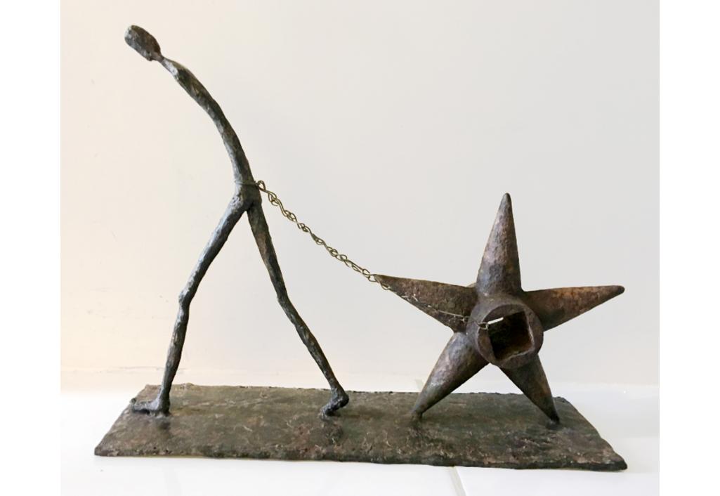Accroche ta charrue à une étoile Sculpture Nadine de Garam Zeuxis