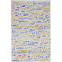 Franchissement des bords bleu cobalt