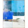 Petite composition bleue