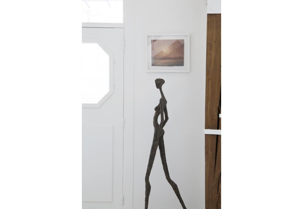 Window to the sky I, abstrait, art, contemporain
