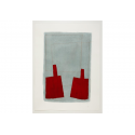 Série des Simulacres rouge et gris G.4