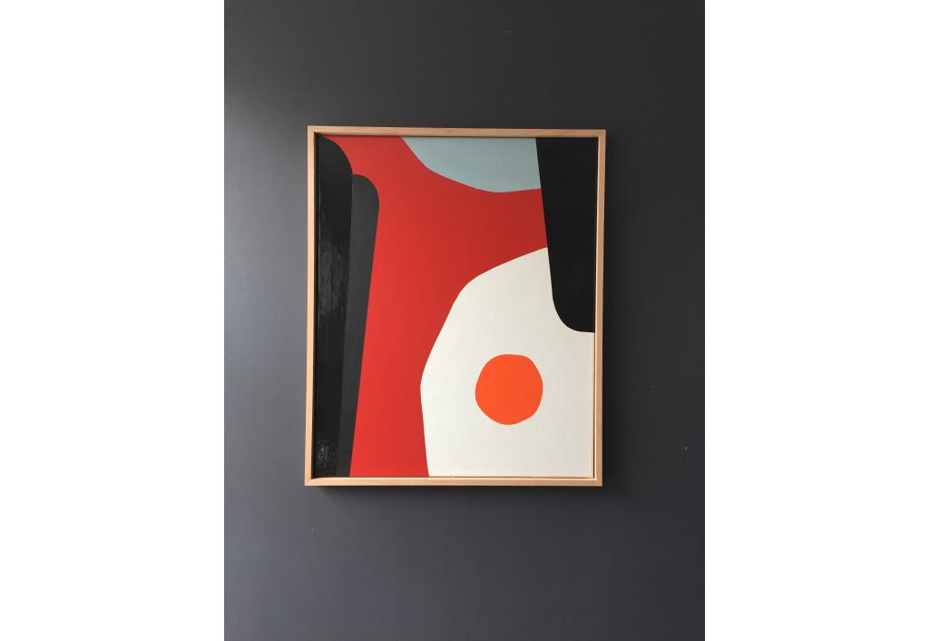 Amelie vous présenter Break…Fast une oeuvre de François Bonnel