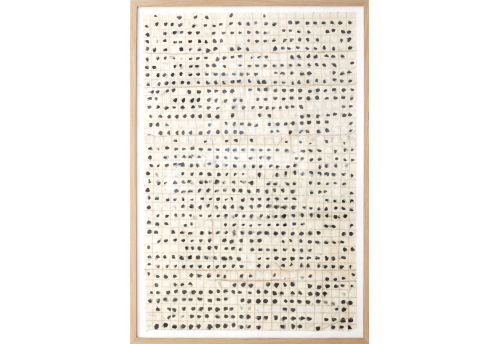 Franchissement des bords - gris de Paynes et blanc