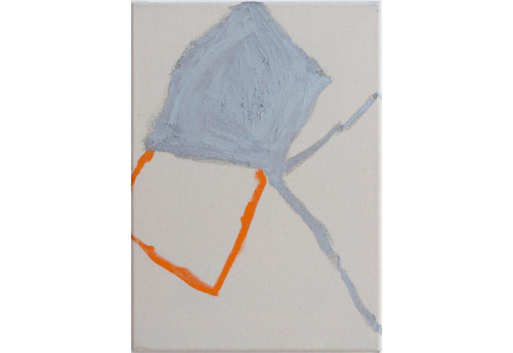 Untitled (sivler/cadmium)