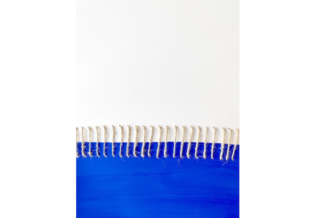 Portrait, Bleu N°3