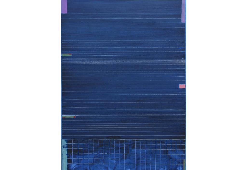 Nuit bleue de prusse bleu azur