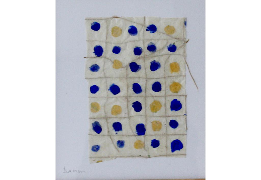Franchissement des bords - Bleu Jaune