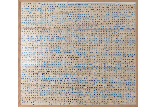 Le franchissement des bords - bleu clair II