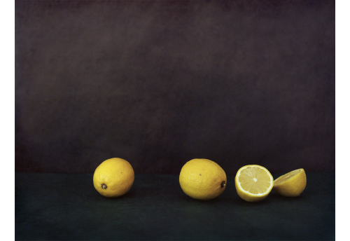 Le goût du citron coupé