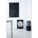 Ovale - Jaune et noir Edward Baran Artworks on paper Zeuxis