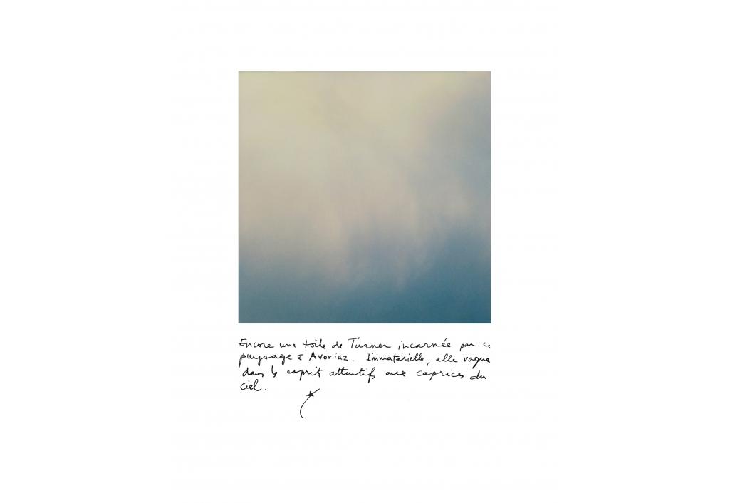 Jour bleu -15°, Avoriaz, 1er janvier