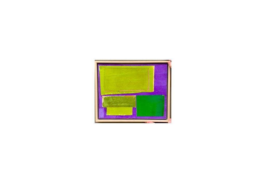Violet colorfield