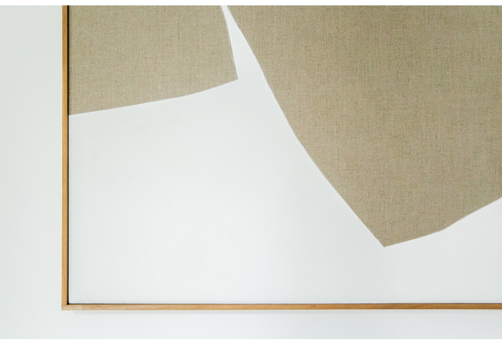 Linen carpet