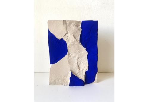 Bloc bi colore bleu 1