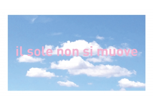 Borderless, Tuscany, Il sole non si muove I