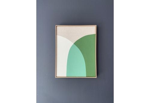 Quatre Saisons - Jaune & blanche / Vert & blanche