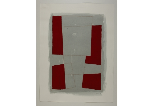 Série des Simulacres rouge et gris G.6