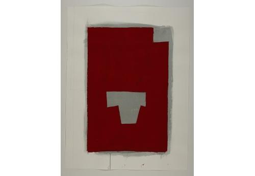 Série des Simulacres rouge et gris G.5