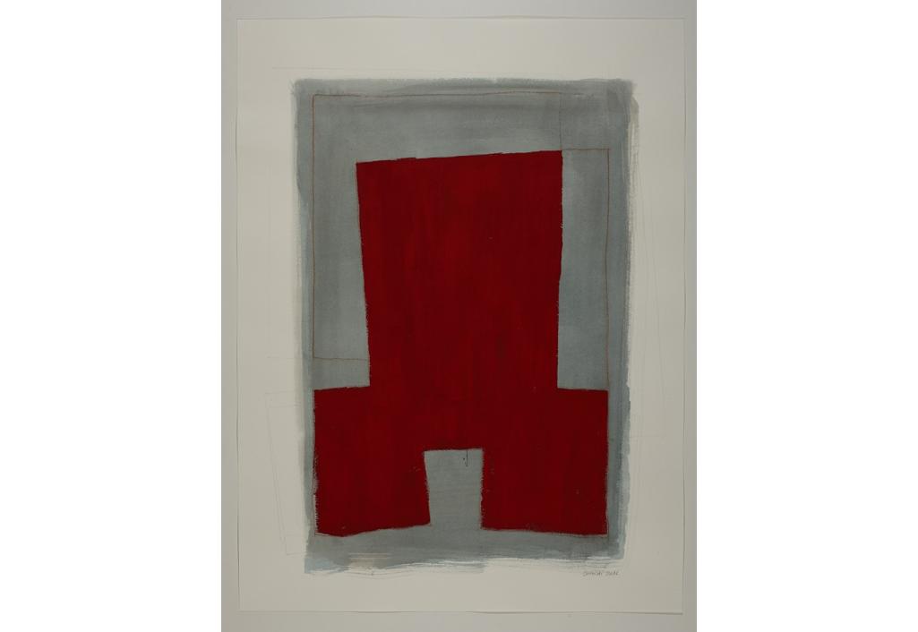 Série des Simulacres rouge et gris G.2