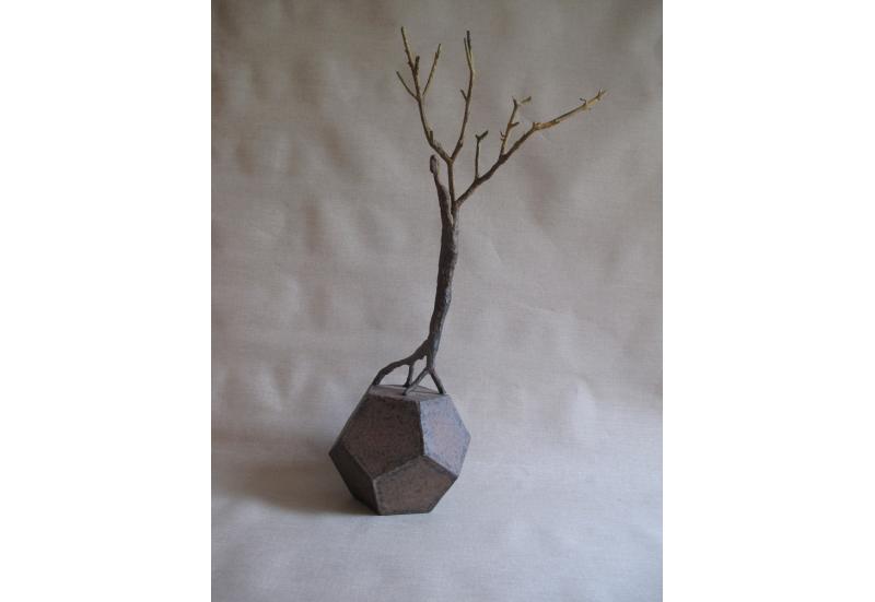 Le jardinier sculpture bronze arbre art oeuvre zeuxis for Le jardinier