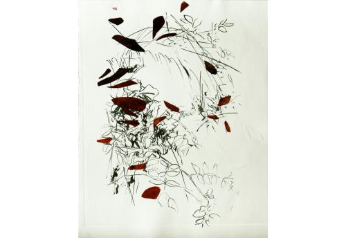 Partir 7 Engraving Isabelle Beraut Zeuxis