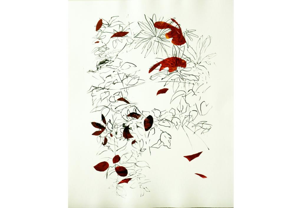 Partir 9 Engraving Isabelle Beraut Zeuxis