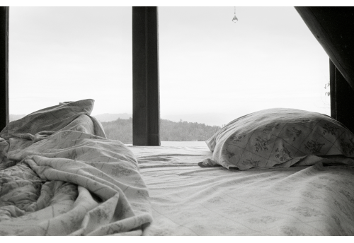 Fenêtre lit Photographie Bertrand Clech Zeuxis