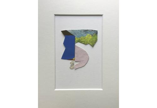 Yellow Mountain Oeuvre sur papier Laure Carré Zeuxis