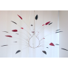 Bouquet gris foncé et rose grenat Jacques Salles Sculpture Zeuxis