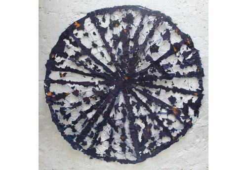 Bleu foncé - l'Or Edward Baran Oeuvre sur papier Zeuxis