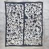 Deux portes - Bleu foncé Edward Baran Oeuvre sur papier Zeuxis