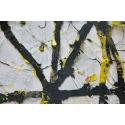 Cercle - Jaune noir Edward Baran Artworks on paper Zeuxis