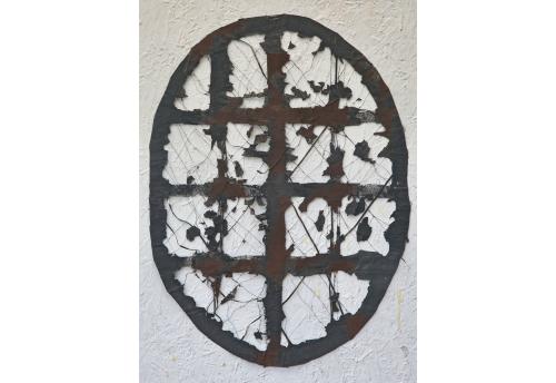 Petite ovale - Noir brun Edward Baran Oeuvre sur papier Zeuxis