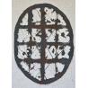 Petite ovale - Noir brun Edward Baran Artworks on paper Zeuxis