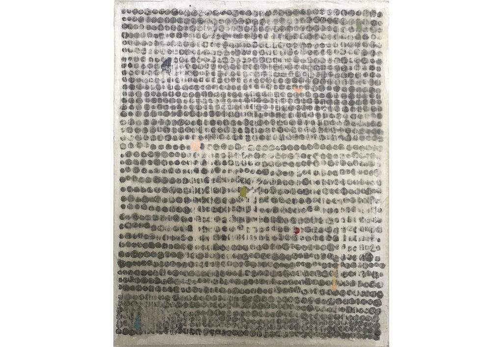 A painting of Hanna ten Doornkaat - OT - © Emily Almond Barr