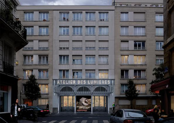 Atelier des Lumières Paris Zeuxis