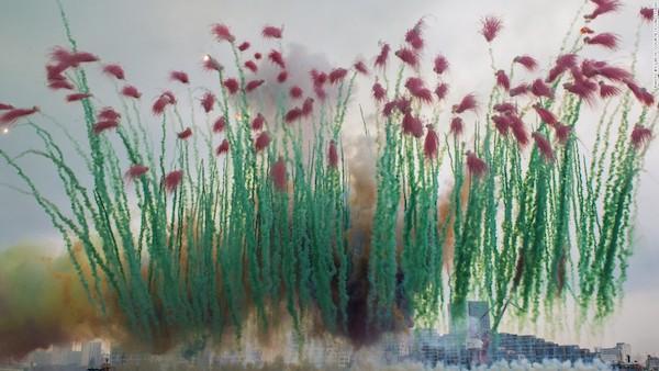 Zeuxis galerie d'art présente le travail de l'artiste Cai Guo Quiang