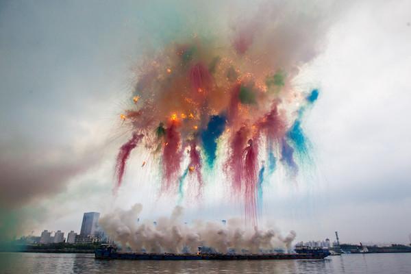 Zeuxis galerie d'art présente le travail de Cai Guo Quiang