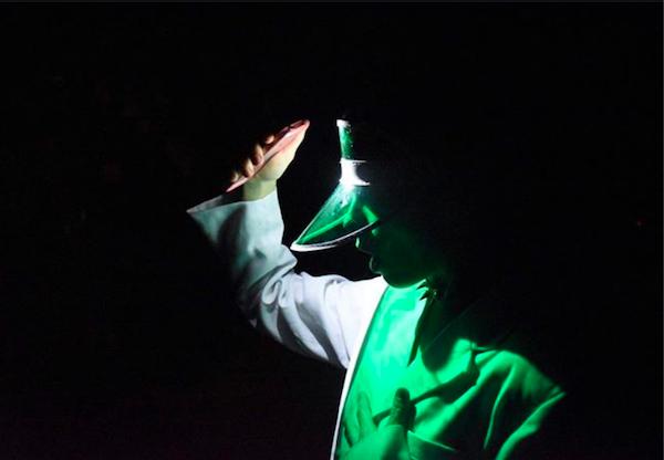 Zeuxis galerie d'art présente l'exposition Invisible avec le Théâtre de Verre et La Graffiterie