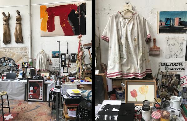 Zeuxis visite l'ancien atelier de Man Ray