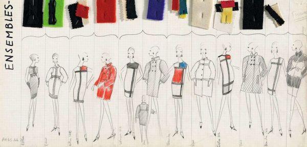 Amelie with Zeuxis galerie d'art présente l'exposition des dessins de jeunesse d'Yves Saint Laurent au musée Yves Saint Laurent