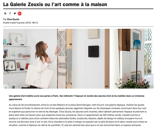 Zeuxis dans Time Out