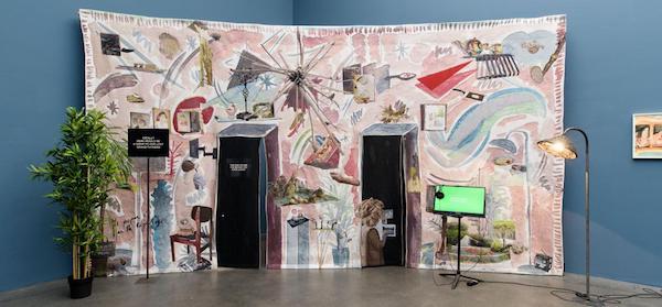 Amélie with Zeuxis galerie d'art présente l'exposition Laure Prouvost au Palais de Tokyo