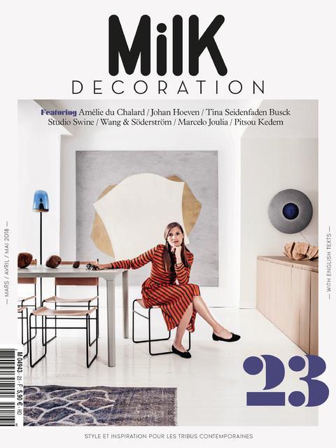 Zeuxis en première de couverture chez Milk Magazine !