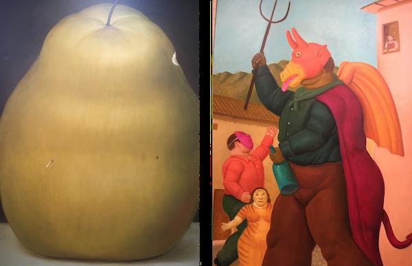 Zeuxis présente l'exposition Botero Picasso